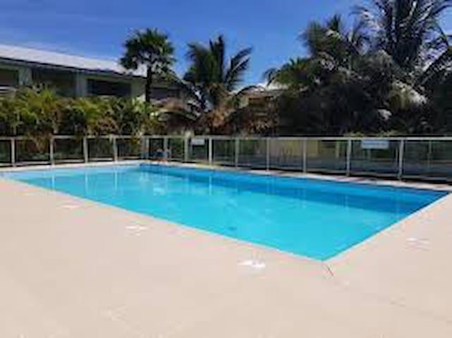 Charmant F1 dans résidence avec piscine