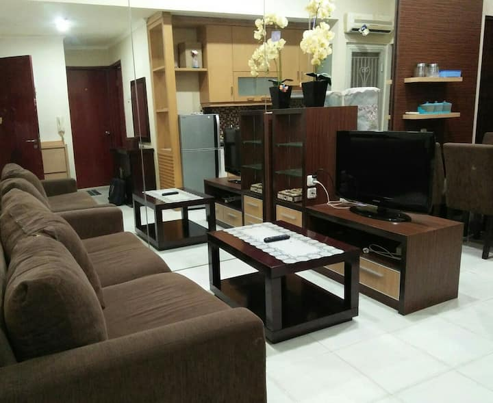 Good 2 Bedrooms Apartment at Central Jakarta