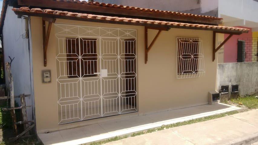 Casa em praia de Gamboa do Morro-BA - Cairu