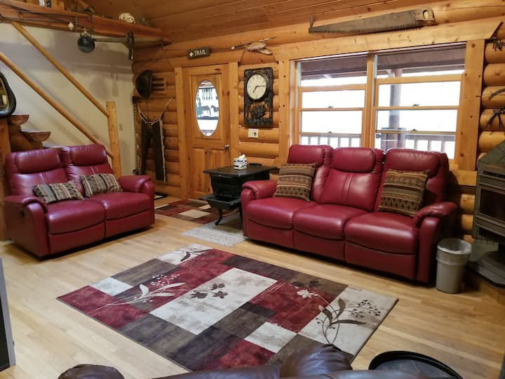 Private Gated 2 BD + Loft Cabin 20 Acres
