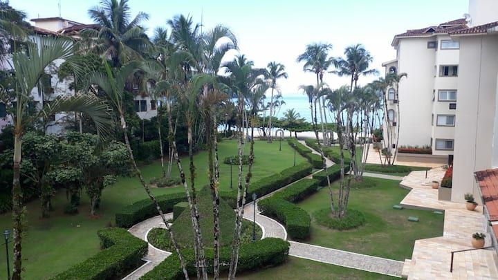 Apartamento pé na areia-Tabatinga-Cond Costa Verde