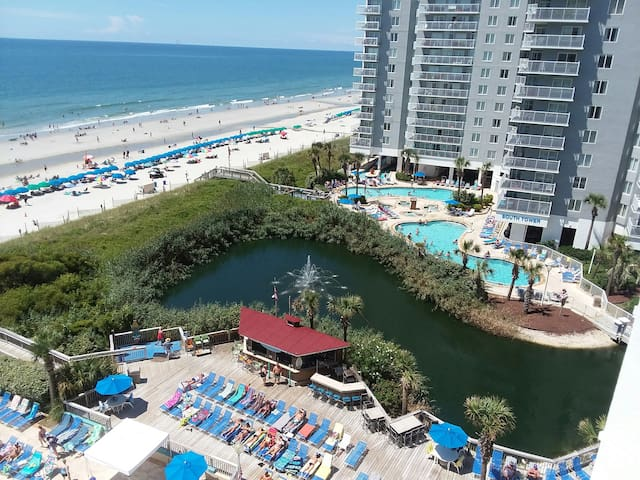 Oceanfront 1 BR w/Kitchen / King @ Seawatch Resort