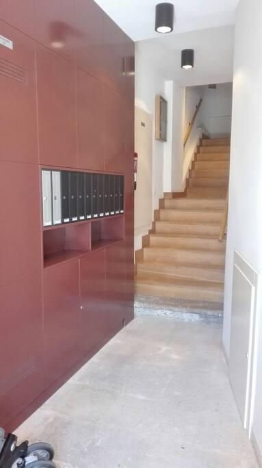 Portal de acceso al apartamentos