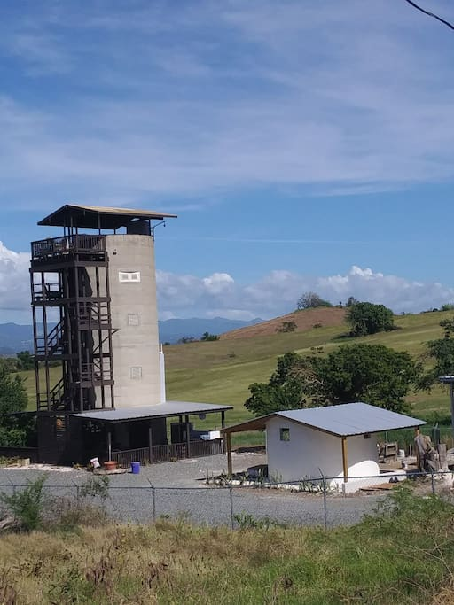 A unique silo in Puerto Rico. 4 floors and a terrace