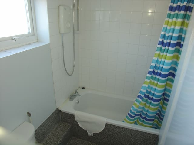 Bathroom/shower/W.C. on first floor.