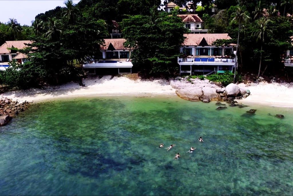 The Mermaid Rock is a Siri villa Landmark.