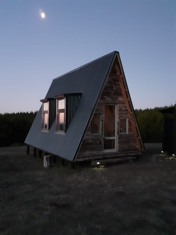 "La Casa ""A"", Pullay. Eco Tiny House"
