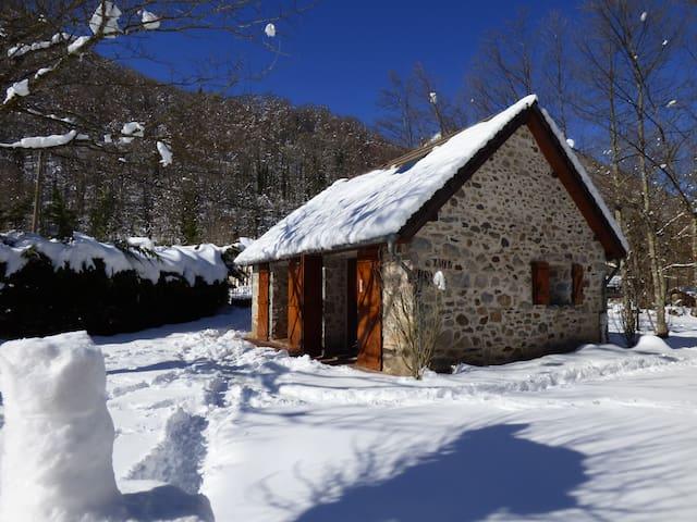 Maison en pierre - Vallée d'Ustou - Guzet - Ustou