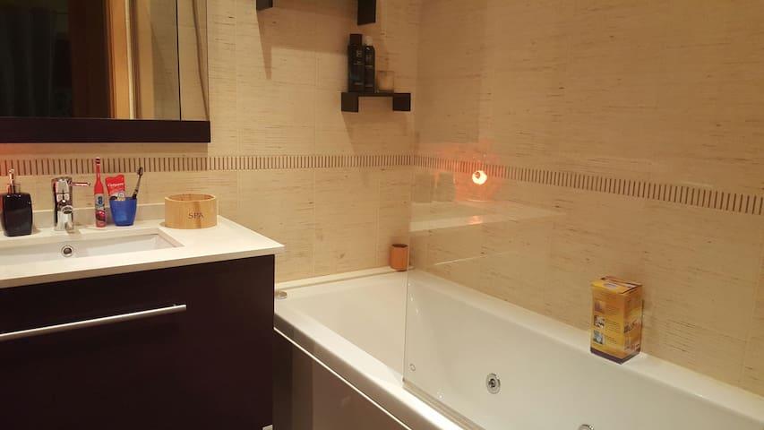 A exclusive bathroom