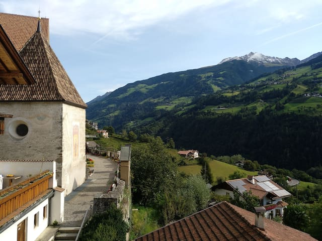 Beautiful listed building near Merano