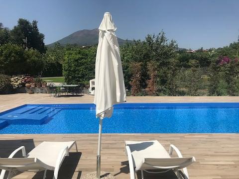 Relax con Jacuzzi tra Pompei e Capri