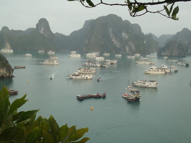 Ocean View Cabin on 3* CRUISE Halong Bay_2 DAYS