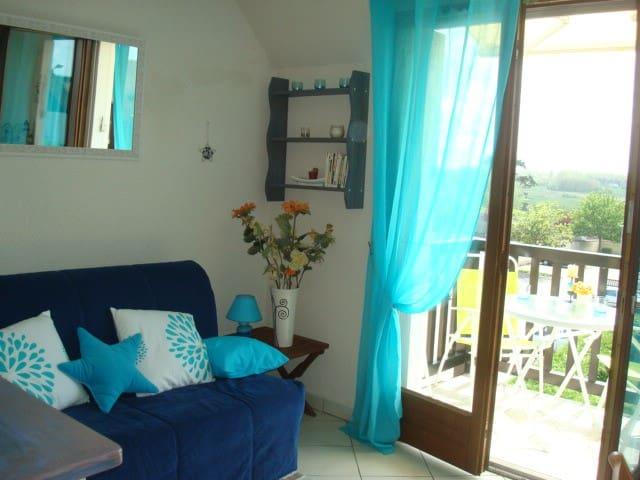 Aquarel, appartement classé 3*** - Ouistreham - Apartment