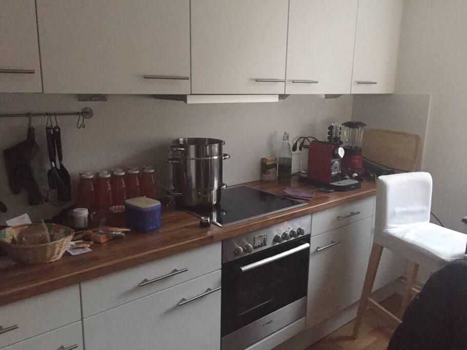 Neue Einbauküche1 mit Kühl-Gefrierkombi