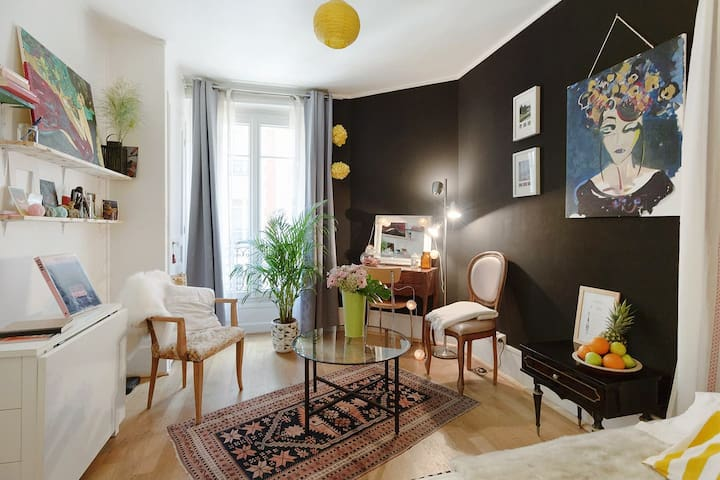 Cozy studio heart Montmartre - Paris - Apartment