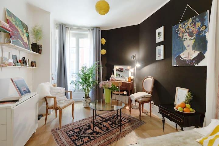 Cozy studio heart Montmartre - Pariisi - Huoneisto