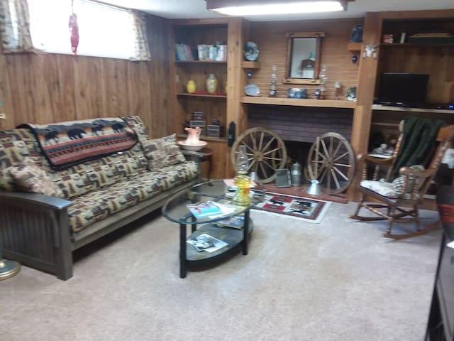 Casper, WY Spruce Street basement apartment