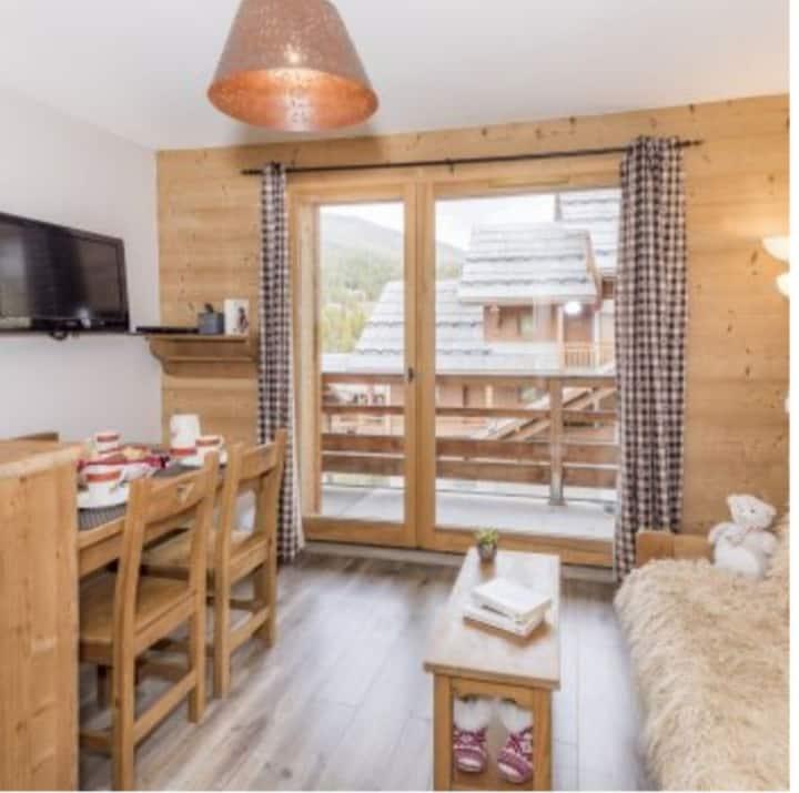 Appartement 2 pièces 32 m² au pied des pistes