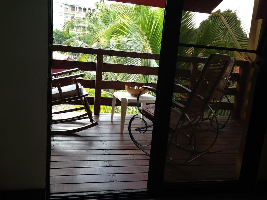Salida al balcon