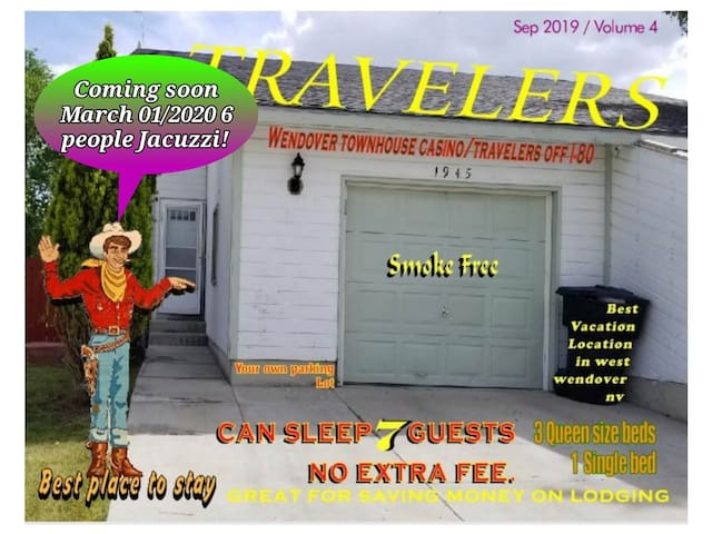 Wendover townhouse casino/ travelers off I80
