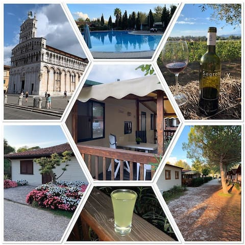 Onze mobilhome in Toscane