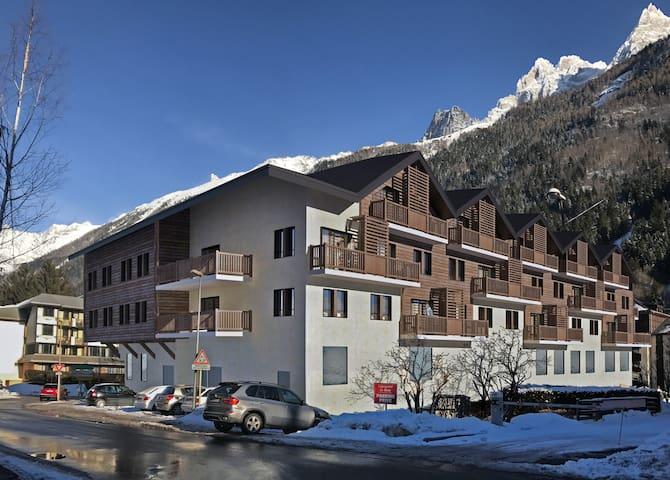 Appart. 2 chambres et vue, 44 m2, dans un hôtel 3*