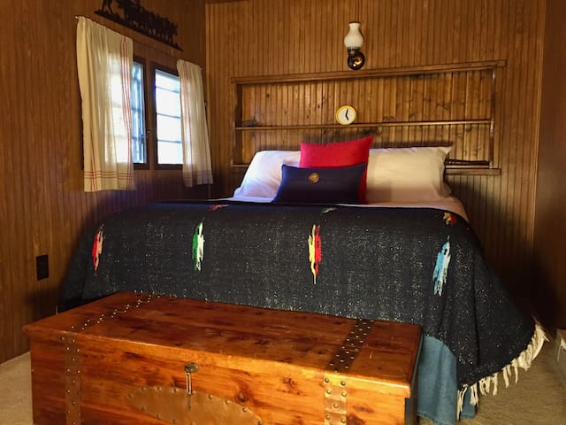 Comfy full size bed & cedar chest