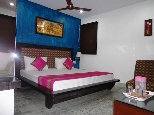 Private room@Venn premium, New Delhi - New Delhi - Apartment