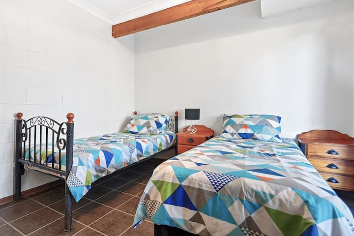 Bedroom 2 - two single beds