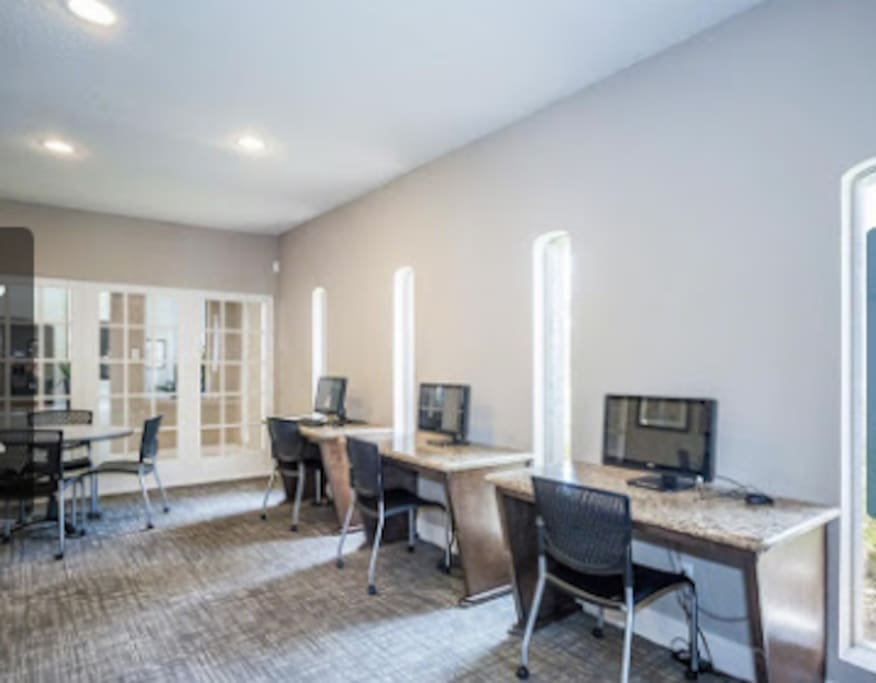 Business Center Wi-Fi available