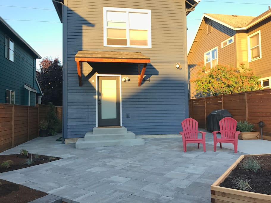 Back yard patio just finished in August 2017!