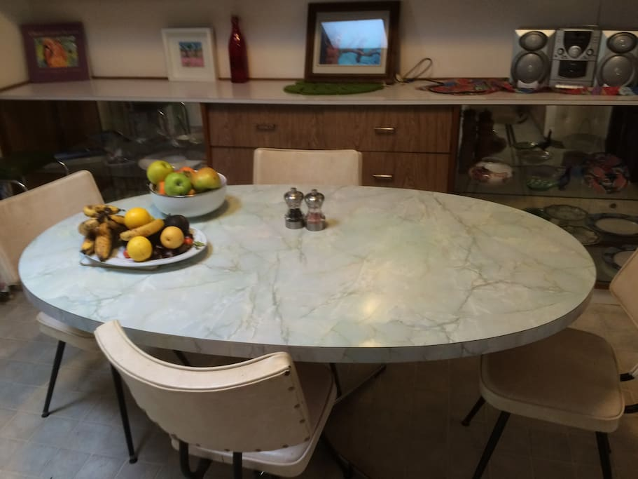 Shared kitchen and dinning