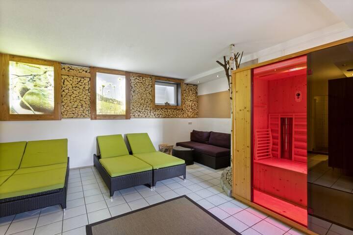 Appartement séduisant à Unterweißenbach avec sauna