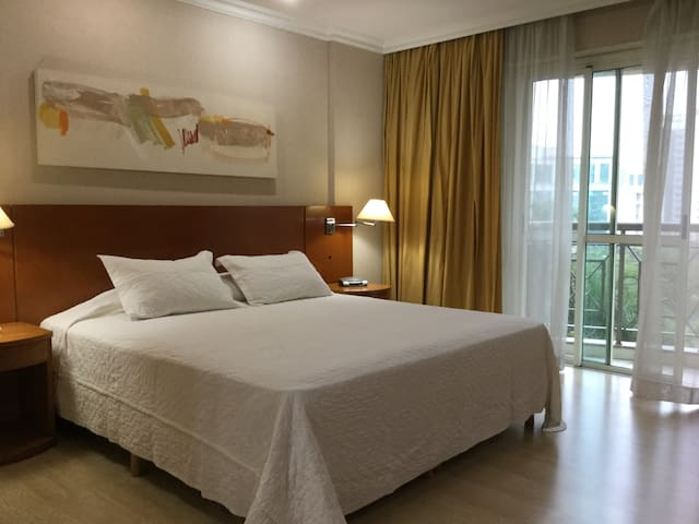 Double room 4* in Barra da Tijuca - near the beach