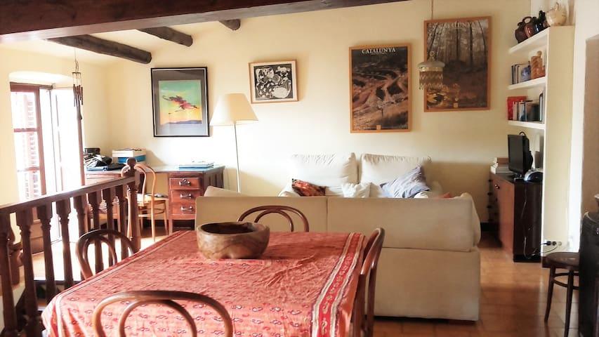 Belle maison village calme à 20 min plages Roses - Vilamaniscle - Huis