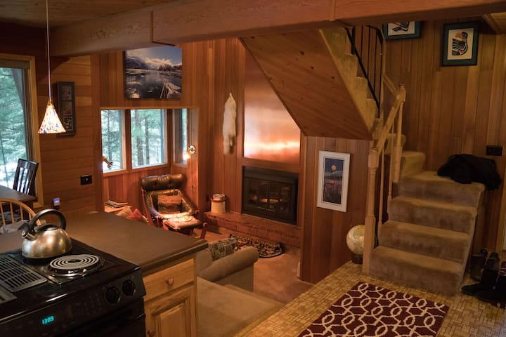 Alpine Chalet Nestled in the Woods