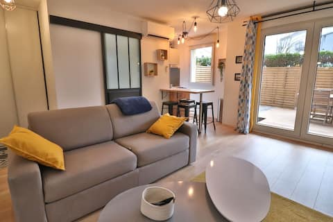 *Beautiful T2* Terrace, Air Conditioned, WiFi, Netflix