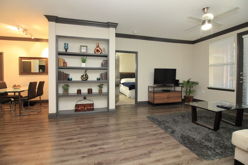 Spacious Midtown/Montrose Apt. - 2-bedroom / 2-bathroom apt. with 2 king beds and a pull-out sofa bed :)