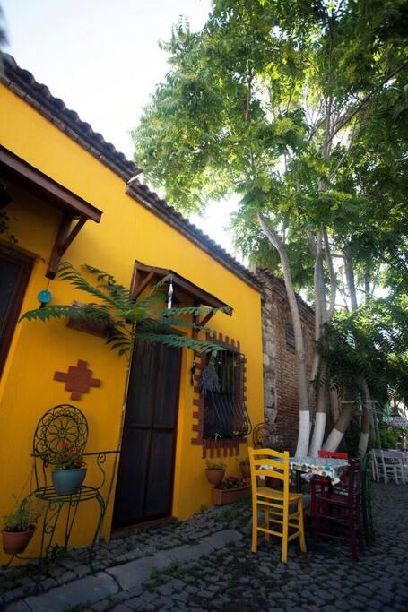 Sokağımız ve renkli evimiz