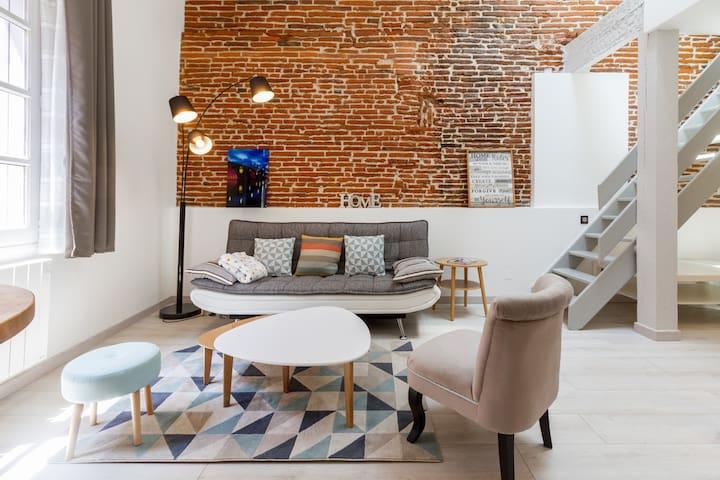 ❤️ Charmantes, renoviertes Appartement am Carmes