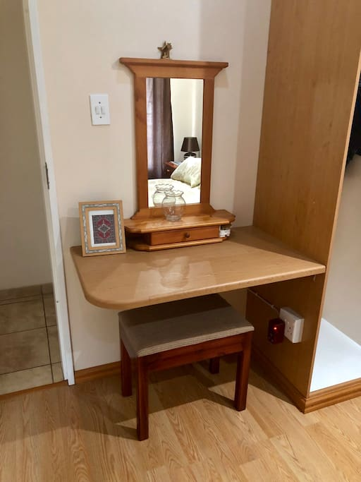 Desk or dressing table.  We will supply the chair of your choice.