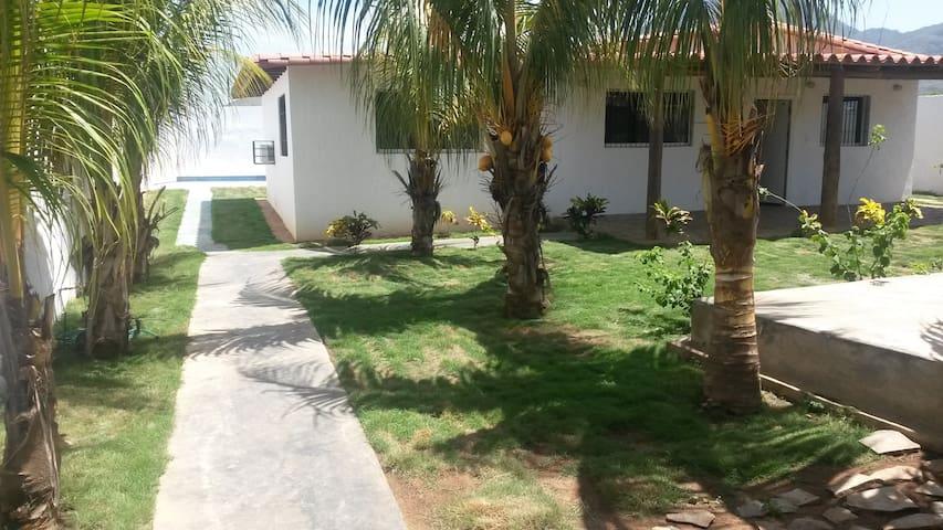 Family house at Playa el Agua, Isla de Margarita