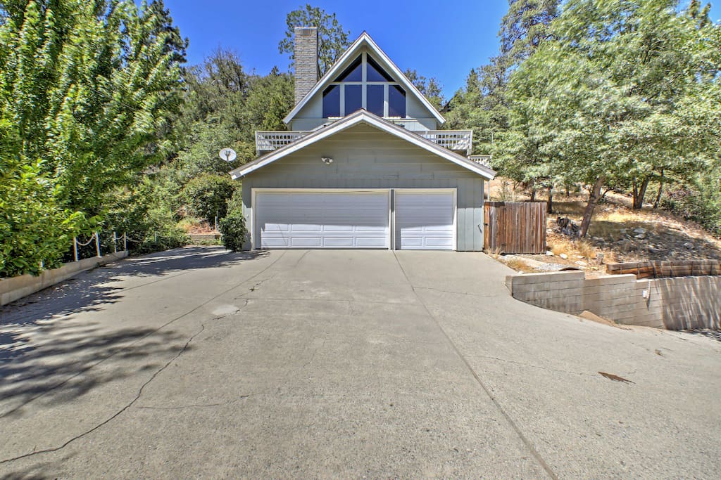 The property boasts over 2,000 square feet of living space & a wraparound deck.