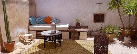Casa con patio en Biar