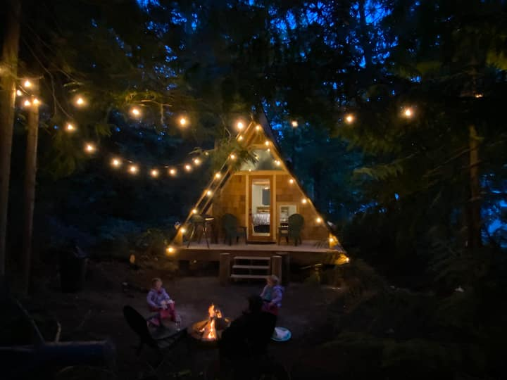 A-Frame Away on the Olympic Peninsula!