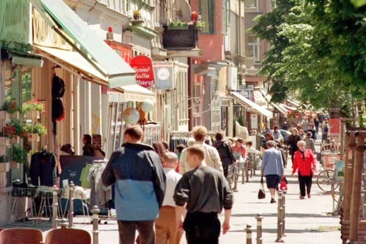 Bergmann Neighborhood in Kreuzberg