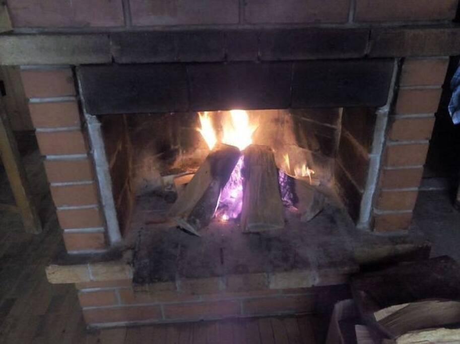 Jahorinka-open fireplace