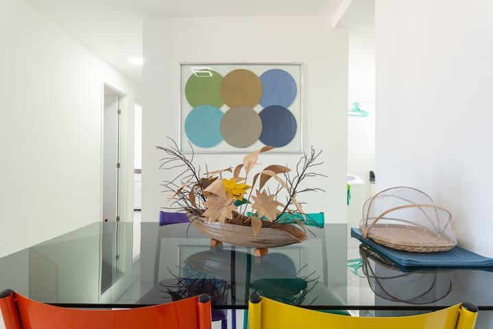 Apartamento completo e bem localizado em Olinda.