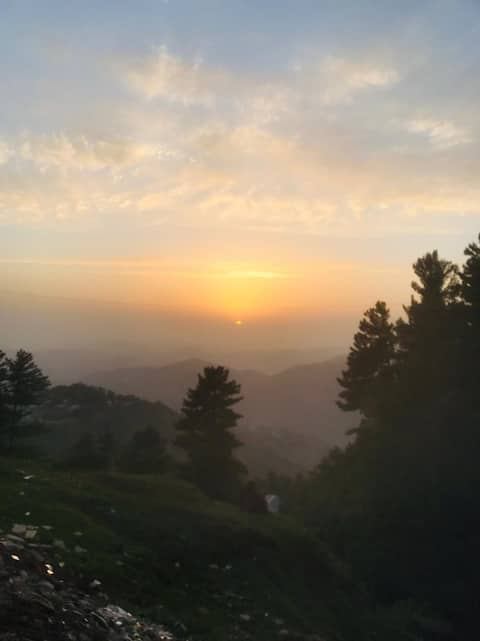 Luxurious room with breath taking views in Murree