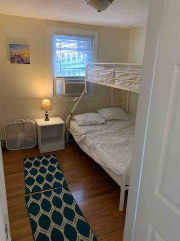 Bedroom w/Twin Over Full-Sized Bed